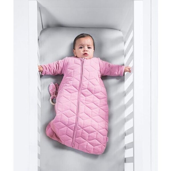 Śpiworek do spania Graphic Quilt Mauve