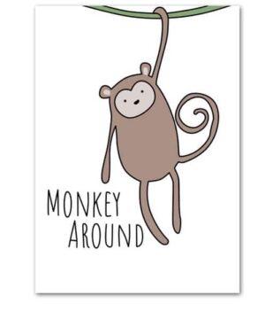 Plakat na ścianę Monkey