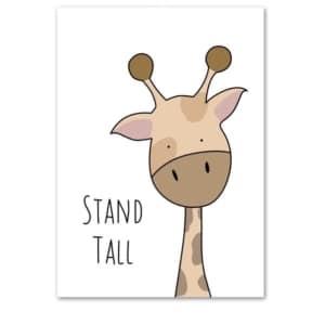 Plakat na ścianę Stand Tall