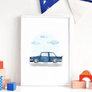 Plakat na ścianę BMW