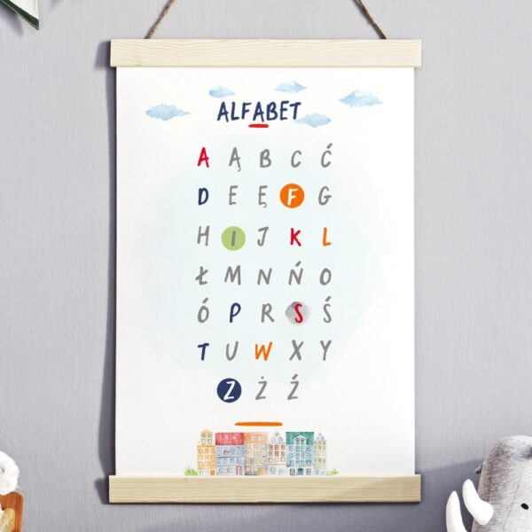 Plakat na ścianę Alfabet