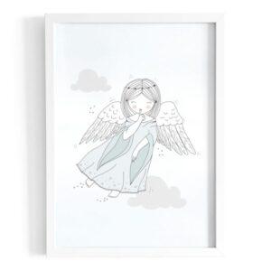 Plakat na ścianę Aniołek