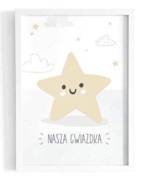 Plakat na ścianę Nasza Gwiazdka
