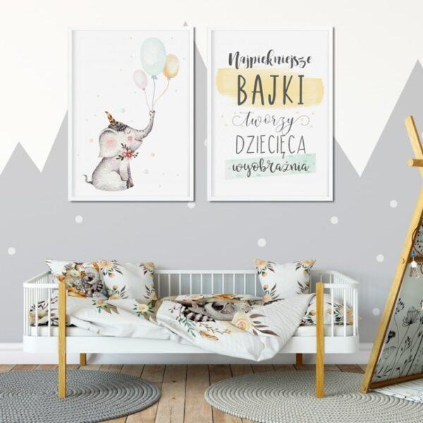 Plakat na ścianę Najpiękniesze Bajki