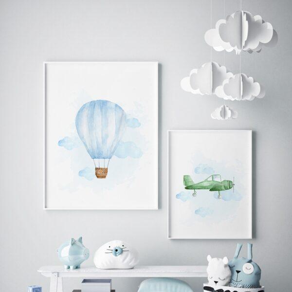 Plakat na ścianę Śmigłowiec