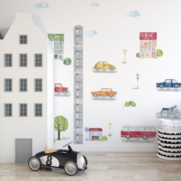 Naklejki na ścianę samochody