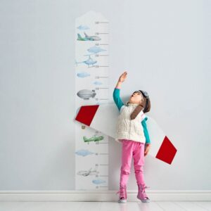 Miarka wzrostu samoloty