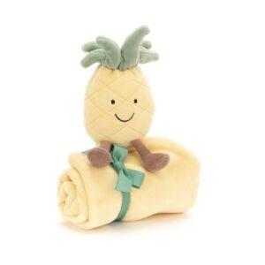 Przytulanka dla niemowląt amuse ananas 34cm