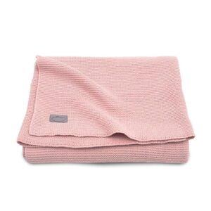 Kocyk dla dziecka tkany Basic Blush