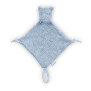 Przytulanka dla niemowlaka Hippo Blue