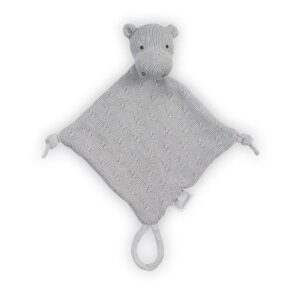 Przytulanka dla niemowlaka Hippo Grey