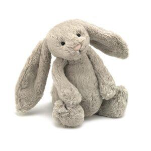 Maskotka królik beżowy 31 cm