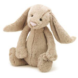 Maskotka królik beżowy 36 cm