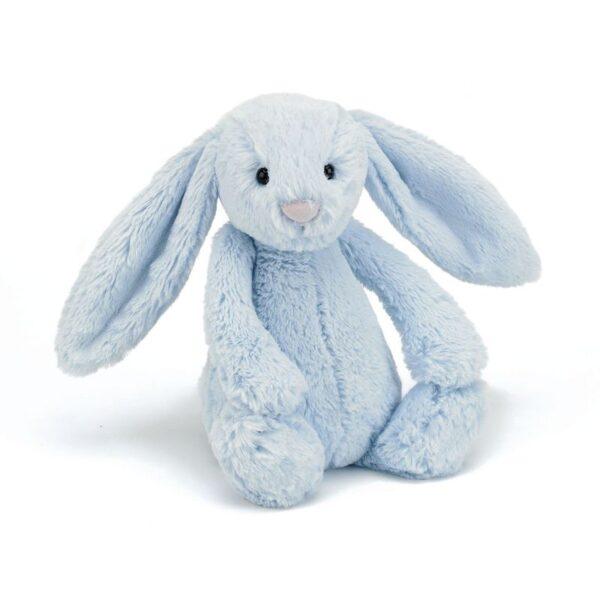 Maskotka królik niebieski 31 cm