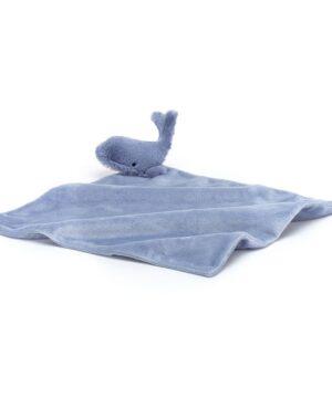 Przytulanka dla niemowląt wieloryb 34cm