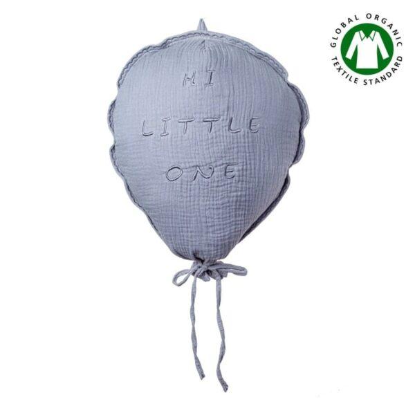 Balon na ścianę poduszka dekoracyjna Grey