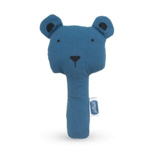 Grzechotka Squeaker Animal Steel Blue