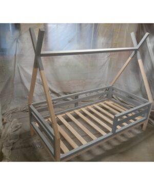 Łóżko tipi 160x80 szary