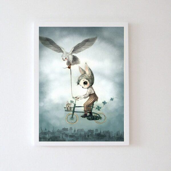 Plakat dla dzieci chłopczyk Baard