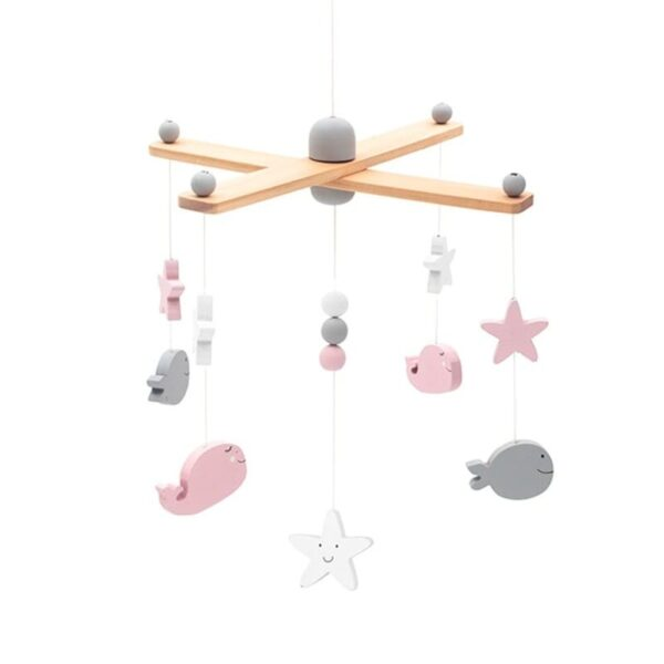 Karuzela nad łóżeczko Sea Animals Pink