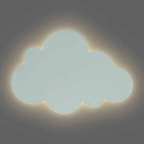 Lampa ścienna dla dzieci chmurka Cloud Green Mint