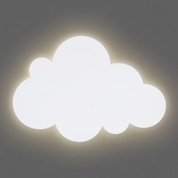 Lampa ścienna dla dzieci chmurka Cloud White