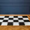 Mata do zabawy dla dzieci mini puzzle czarna XL