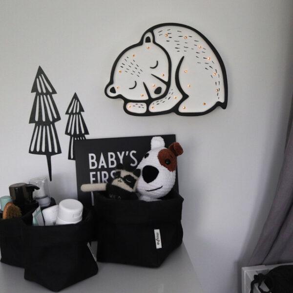 Lampa dla dzieci miś polarny