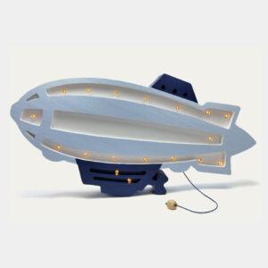 Lampa dla dzieci sterowiec