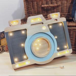 Lampa dla dzieci aparat fotograficzny