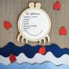 Tablica suchościeralna dla dziecka krab