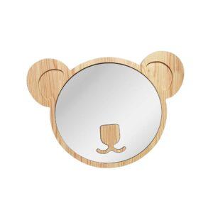 Drewniane luterko dla dziecka miś koala