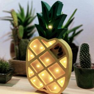 Lampa dla dzieci ananas