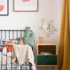 Drewniane luterko dla dziecka żółw