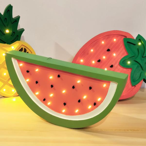 Lampa dla dzieci arbuz