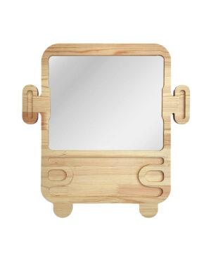 Drewniane luterko dla dziecka ciężarówka