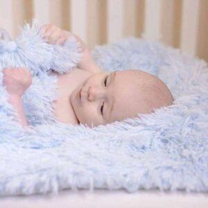 Kocyk niemowlęcy Koochicoo Baby Blue