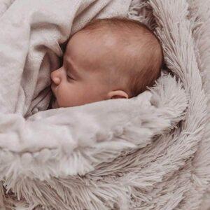 Kocyk niemowlęcy Koochicoo Baby Grey