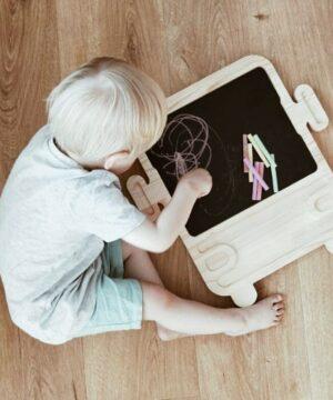 Tablica dla dziecka autobus