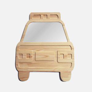 Drewniane luterko dla dziecka samochód