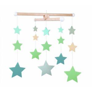 Karuzela nad łóżeczko gwiazdki