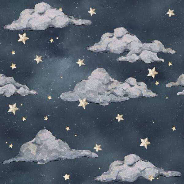 Tapeta dla dzieci Nocne Niebo