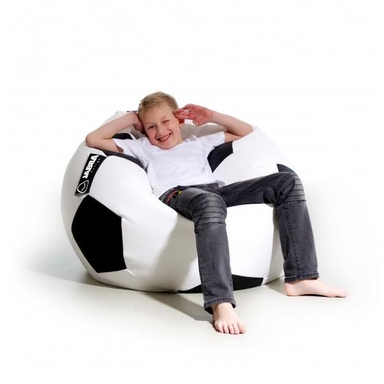 Pufa dla dzieci piłka Kick