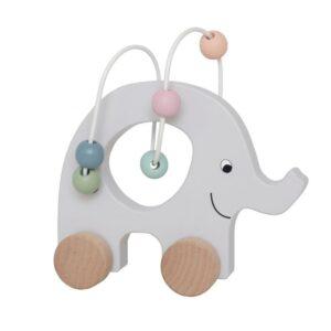 Słoń mini manibirynt na kółkach