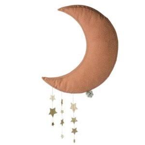 Dekoracja ścienna Sparkle Moon Pink