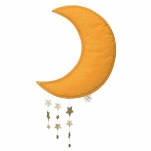 Dekoracja ścienna Sparkle Moon Yellow