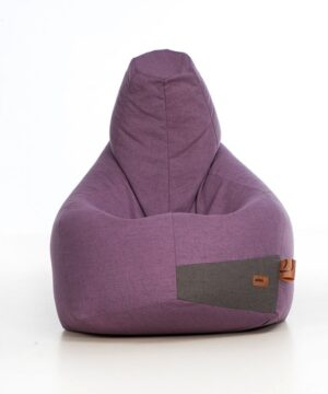 Pufa dla dzieci Sakko fiolet