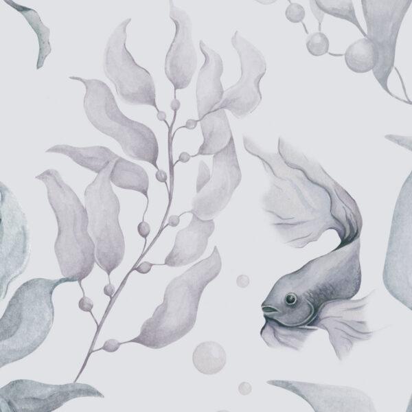 tapeta meduzy color 100x280 2 600x600 - Tapeta dla dzieci Magia Oceanu Color