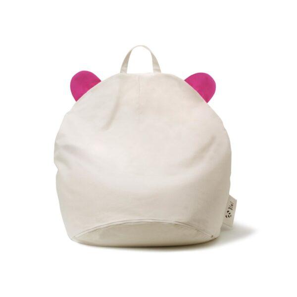 Pufa dla dzieci PANDA Pink