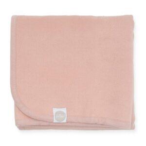 Kocyk niemowlęcy 75x100 Pale Pink
